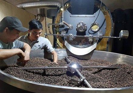 Nhận rang gia công cà phê